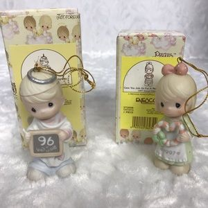 Precious Moments Other - Precious moments 2 vintage ornaments 1996 and 1997